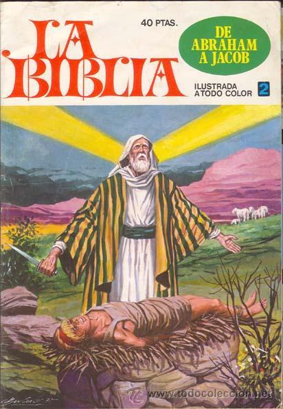 LA BIBLIA NUMERO 2 DE ABRAHAM A JACOB. EDITORIAL BRUGUERA (Tebeos y Comics - Bruguera - Otros)