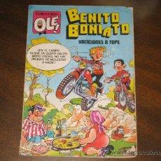 Tebeos: COLECCION OLE - BENITO BONIATO - VACACIONES A TOPE. Lote 26194420