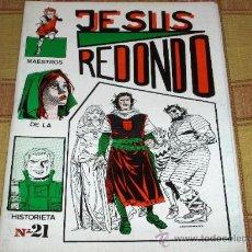 Tebeos: MAESTROS DE LA HISTORIETA Nº 21 JESÚS REDONDO DIBUJANTE CAPITÁN TRUENO. NUEVO.. Lote 18004601