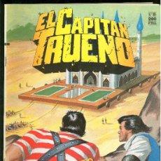 Tebeos: EL CAPITAN TRUENO. EL MAHARAJA NEGRO. EDICIONES B. Nº 105.. Lote 18007702