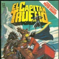 Tebeos: EL CAPITAN TRUENO. PELIGRO EN LA ESTEPA. EDICIONES B. Nº 83.. Lote 18009082
