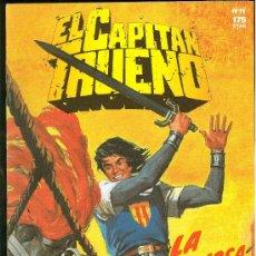 Tebeos: EL CAPITAN TRUENO. LA MISTERIOSA OAXCALA. EDICIONES B. Nº 11.. Lote 18012958