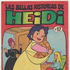 Tebeos: LAS BELLAS HISTORIAS DE HEIDI Nº 17.. Lote 18090960