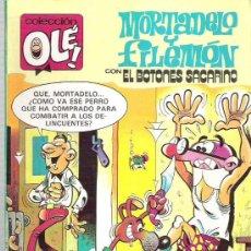 Tebeos: MORTADELO Y FILEMON Y EL BOTONES SACARINO - COLECCION OLE 265 - M 48 ** 1987. Lote 19387592