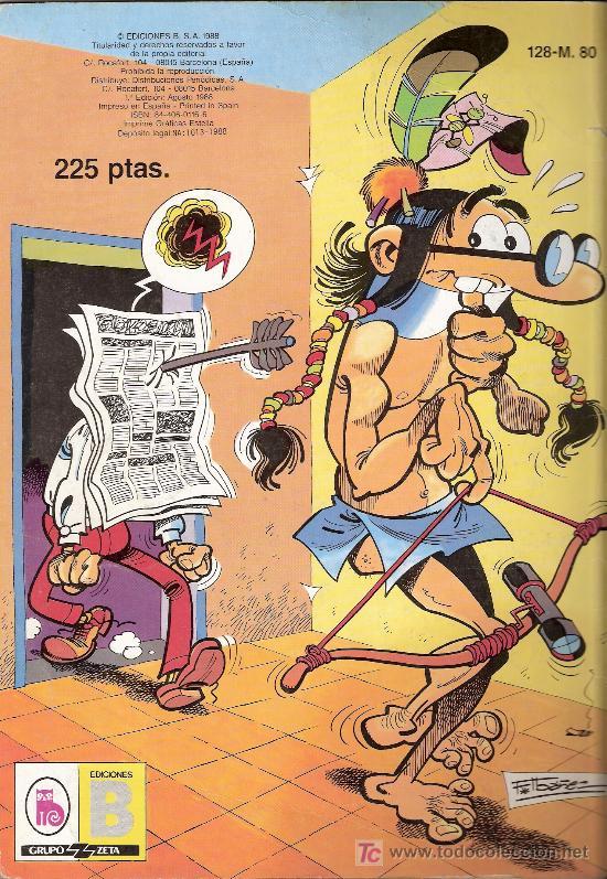 Tebeos: Mortadelo y Filemón .El caso del calcetín. Colección Olé nº 128 - M. 80. 1ª edición. Agosto 1988 - Foto 2 - 27062646