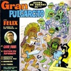 Tebeos: TOMO GRAN PULGARCITO BRUGUERA + EXTRA VERANO. Lote 25908088