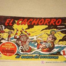 Tebeos: EL CACHORRO Nº 166. AL BORDE DEL DESASTRE. GARCÍA IRANZO. BRUGUERA 1958. ORIGINAL.++. Lote 26214236