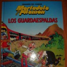 Tebeos: MORTADELO Y FILEMÓN, GRANDES DEL HUMOR, LOS GUARDAESPALDAS, COMIC EN TAPA DURA, ESTADO NUEVO. Lote 25671629