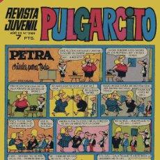 Tebeos: PULGARCITO Nº2189 (SHERIFF KING Y MINIPÓSTER DE LOS PERSONAJES BRUGUERA: CAPITÁN TRUENO, JABATO,.. ). Lote 18389828