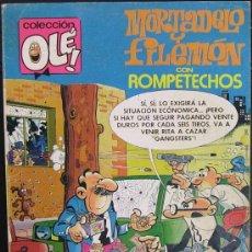 Tebeos: MORTADELO Y FILEMÓN. COLECCIÓN OLÉ! NÚM. 192 (2A EDICIÓN, DICIEMBRE DE 1982). Lote 18390720
