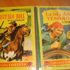 Tebeos: LA ISLA DEL TESORO, BUFFALO BILL, EDITORIAL CORINTO, AÑO 1959, . Lote 27516625