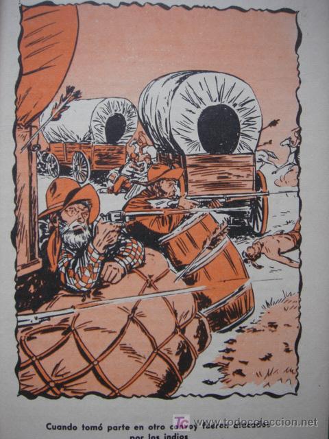 Tebeos: LA ISLA DEL TESORO, BUFFALO BILL, EDITORIAL CORINTO, AÑO 1959, - Foto 7 - 27516625