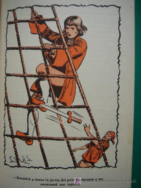 Tebeos: LA ISLA DEL TESORO, BUFFALO BILL, EDITORIAL CORINTO, AÑO 1959, - Foto 20 - 27516625