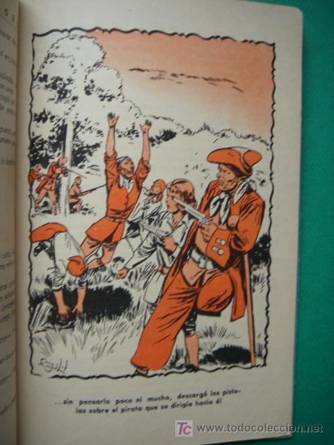 Tebeos: LA ISLA DEL TESORO, BUFFALO BILL, EDITORIAL CORINTO, AÑO 1959, - Foto 21 - 27516625