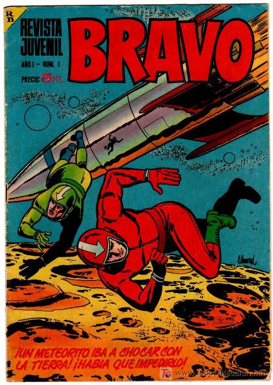 BRAVO Nº 1 BRUGUERA 1968 , BLUEBERRY, GALAX EL COSMONAUTA POR FUENTES MAN, MICHEL TANGUY, AQUILES TA (Tebeos y Comics - Bruguera - Bravo)