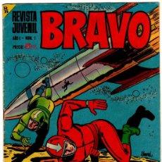 Tebeos: BRAVO Nº 1 BRUGUERA 1968 , BLUEBERRY, GALAX EL COSMONAUTA POR FUENTES MAN, MICHEL TANGUY, AQUILES TA. Lote 21286581