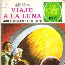 Tebeos: JOYAS LITERARIAS JUVENILES - VIAJE A LA LUNA Nº 72 ** 1973 BRUGUERA. Lote 18590732
