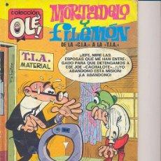 Tebeos: COLEECIÓN OLÉ! - Nº 104 (MORTADELO Y FILEMÓN) ÉPOCA BRUGUERA (1978). Lote 21045530