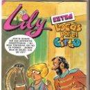 Tebeos: COMIC LILY EXTRA LOCAS POR EL CIRCO Nº 87, CON POSTER DE CAMILO SESTO. NUEVO. Lote 157906358