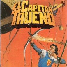 Tebeos: EL CAPITÁN TRUENO. EDICIONES B. NÚMERO 33, EL BRUJO DEL PANTANO.. Lote 18700839