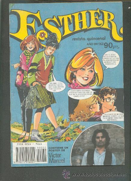 ESTHER REVISTA QUINCENAL Nº 32,EDITORIAL BRUGUERA (Tebeos y Comics - Bruguera - Esther)