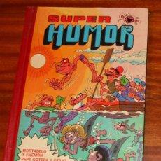 Tebeos: SUPER HUMOR BRUGUERA VOLUMEN I 1984 MORTADELO Y FILEMÓN,PEPE GOTERA,EL BOTONES SACARINO,ZIPI Y ZAPE. Lote 26010661