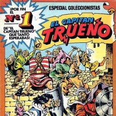 Tebeos: EL CAPITAN TRUENO ESPECIAL COLECCIONISTAS Nº 1, LAS PRIMERAS HISTORIETAS DE AMBROS - BRUGUERA - 1981. Lote 18737796