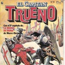 Tebeos: EL CAPITAN TRUENO Nº 11 BRUGUERA AÑO 1986 . Lote 18747031