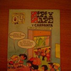Tebeos: TEBEO ZIPI Y ZAPE Y CARPANTA, COLECCION OLE. Lote 18757908