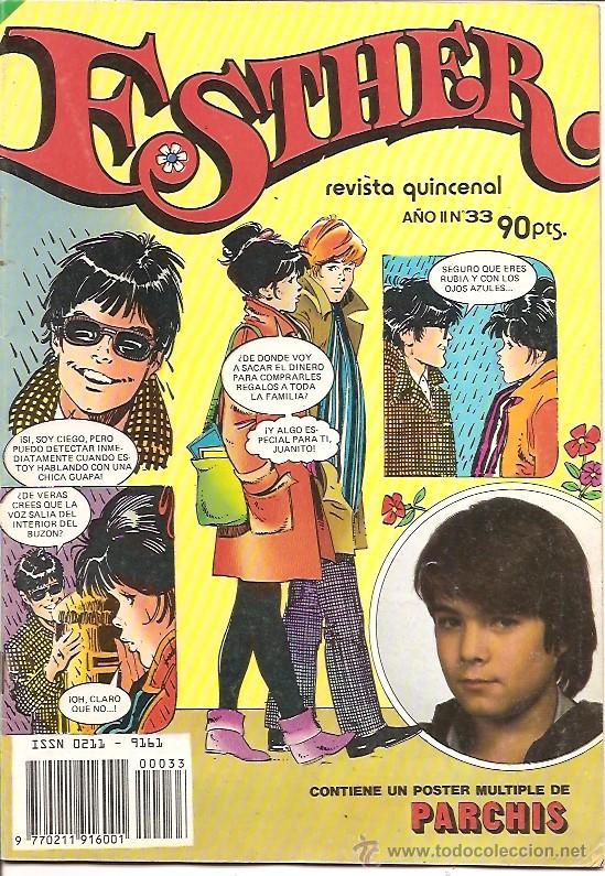 ESTHER Nº 33 REVISTA QUINCENAL EDITORIAL BRUGUERA (Tebeos y Comics - Bruguera - Esther)