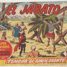 Tebeos: EL JABATO Nº 94. BRUGUERA 1958. Lote 18797288