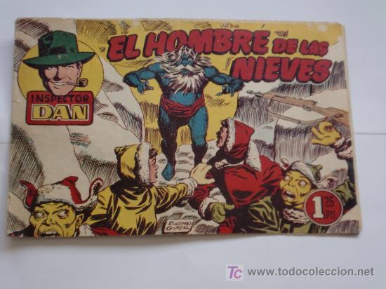INSPECTOR DAN Nº 68 ORIGINAL (Tebeos y Comics - Bruguera - Inspector Dan)