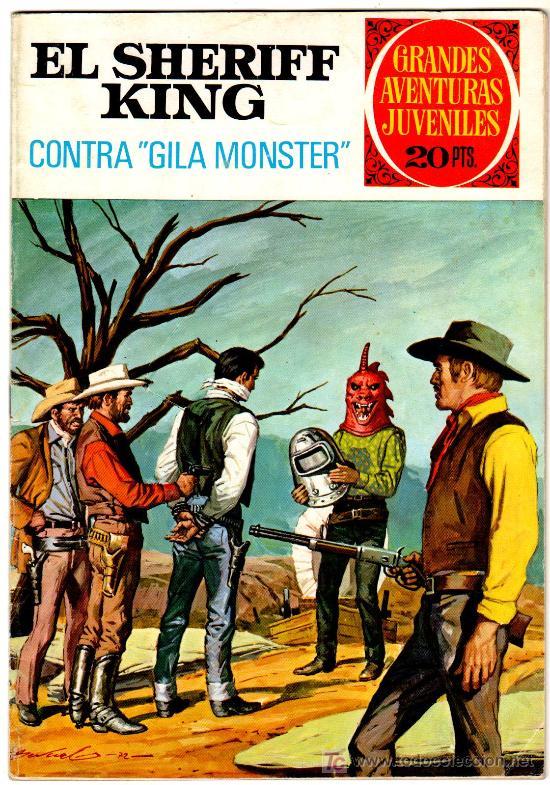 EL SHERIFF KING Nº 24 AÑO 1975, POR FRANCISCO DÍAZ Y VICTOR ALCAZAR, PORTADA DE ANTONIO BERNAL (Tebeos y Comics - Bruguera - Sheriff King)