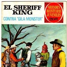 Tebeos: EL SHERIFF KING Nº 24 AÑO 1975, POR FRANCISCO DÍAZ Y VICTOR ALCAZAR, PORTADA DE ANTONIO BERNAL. Lote 25866090