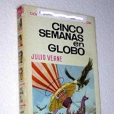 Tebeos: CINCO SEMANAS EN GLOBO. JULIO VERNE. BERNAL, ANTONIO GARCÍA. HISTORIAS SELECCIÓN BRUGUERA.. Lote 23334627