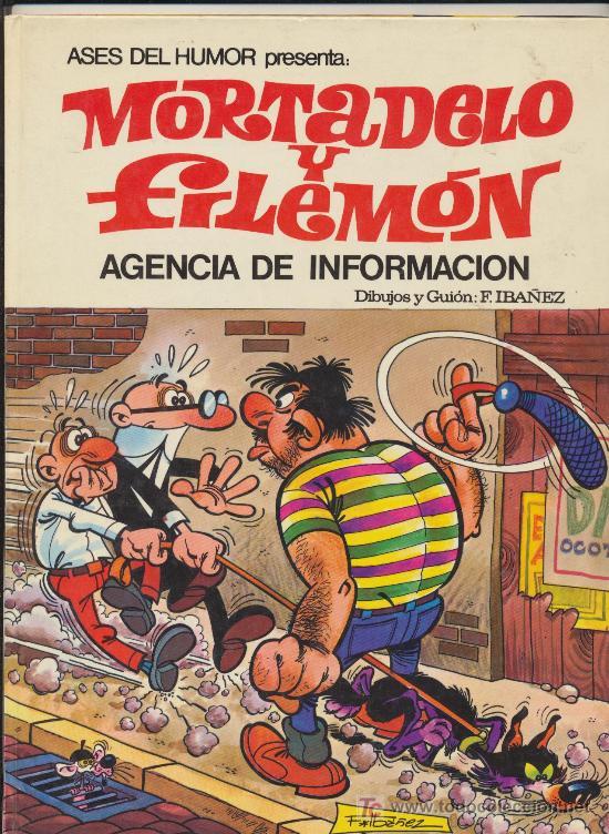 ASES DEL HUMOR Nº 8. MORTADELO Y FILEMÓN. AGENCIA DE INFORMACIÓN. 1979 (Tebeos y Comics - Bruguera - Mortadelo)