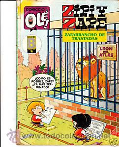 CÓMIC COLECCIÓN OLÉ! ZIPI Y ZAPE Nº 185-Z.38 ED.BRUGUERA (Tebeos y Comics - Bruguera - Ole)
