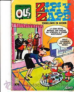 CÓMIC COLECCIÓN OLÉ! ZIPI Y ZAPE Nº 127-Z.50 ED.BRUGUERA (Tebeos y Comics - Bruguera - Ole)