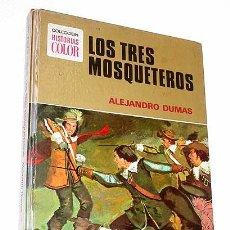 Tebeos: LOS 3 MOSQUETEROS. A. DUMAS. BOSCH PENALVA, ÁLVAREZ BUYLLA. HISTORIAS COLOR Nº 5. BRUGUERA 1975.. Lote 26835663