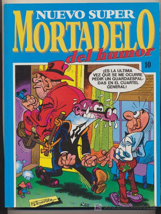 NUEVO SUPER MORTADELO DEL HUMOR Nº 10. (Tebeos y Comics - Bruguera - Mortadelo)