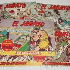Livros de Banda Desenhada: LOTE DE 5 EL JABATO (ORIGINAL) - EDITORIAL BRUGUERA - Nº 205, 253, 271, 19, 14 - DE CONS. Lote 19093097