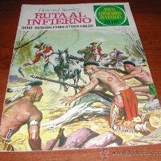 Tebeos: BRUGUERA. JOYAS LITERARIAS JUVENILES: RUTA AL INFIERNO (HOWARD STANLEY)Nº 37 (16/06/1975). Lote 24669038
