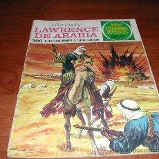 Tebeos: BRUGUERA. JOYAS LITERARIAS JUVENILES Nº 44 (1976): LAWRENCE DE ARABIA. Lote 26162186