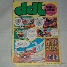 Tebeos: DDT - REVISTA JUVENIL - Nº 447 - AÑO: 1976 - CON PEPE GOTERA Y OTILIO. Lote 26187114