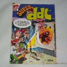 Tebeos: SUPER DDT - Nº 33 - AÑO:1976 - BRUGUERA. Lote 26136167