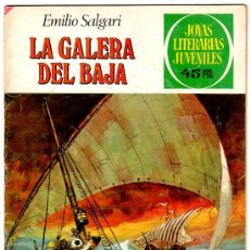 Tebeos: JOYAS LITERARIAS JUVENILES Nº 222, EMILIO SALGARI, DIBUJO FUENTES MAN, 1ª EDICION. Lote 19372112
