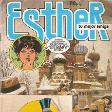 Tebeos: ESTHER, TU MEJOR AMIGA- AÑO IV Nº 106 FEBRERO 1985 . CON PEGATINAS EL CHOLLO- BRUGUERA -V I B. Lote 24799404