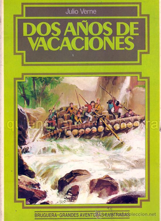 COMIC BRUGUERA GRANDES AVENTURAS ILUSTRADAS. JULIO VERNE. DOS AÑOS DE VACACIONES. 1984. NUEVO (Tebeos y Comics - Bruguera - Otros)