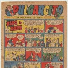 Tebeos: PULGARCITO Nº 1271. BRUGUERA 1955. CON INSPECTOR DAN. Lote 19620080
