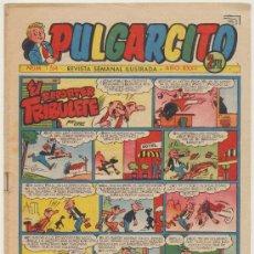 Tebeos: PULGARCITO Nº 1264. BRUGUERA 1955. CON INSPECTOR DAN.. Lote 19620261